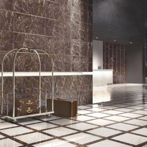Chọn gạch ốp tường phù hợp với phong cách thiết kế