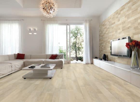Gạch vân gỗ ốp tường trang trí