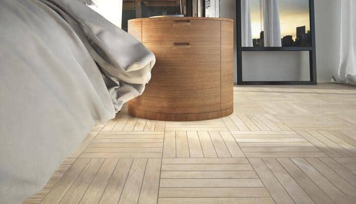Gạch giả gỗ 60x60 dạng trang trí