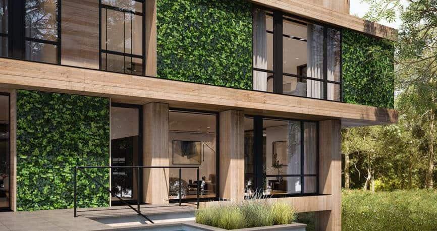 Những công trình sử dụng gạch giả gỗ đều mang đến hiệu ứng thẩm mỹ đáng kinh ngạc