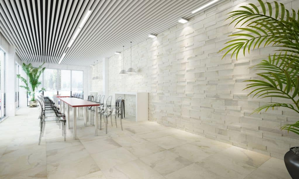 Chọn gạch ốp tường sáng tạo cho mọi công trình