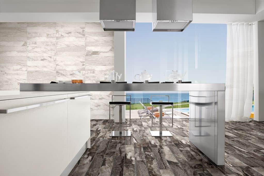 Các mẫu gạch trang trí phòng bếp đẹp sang trọng