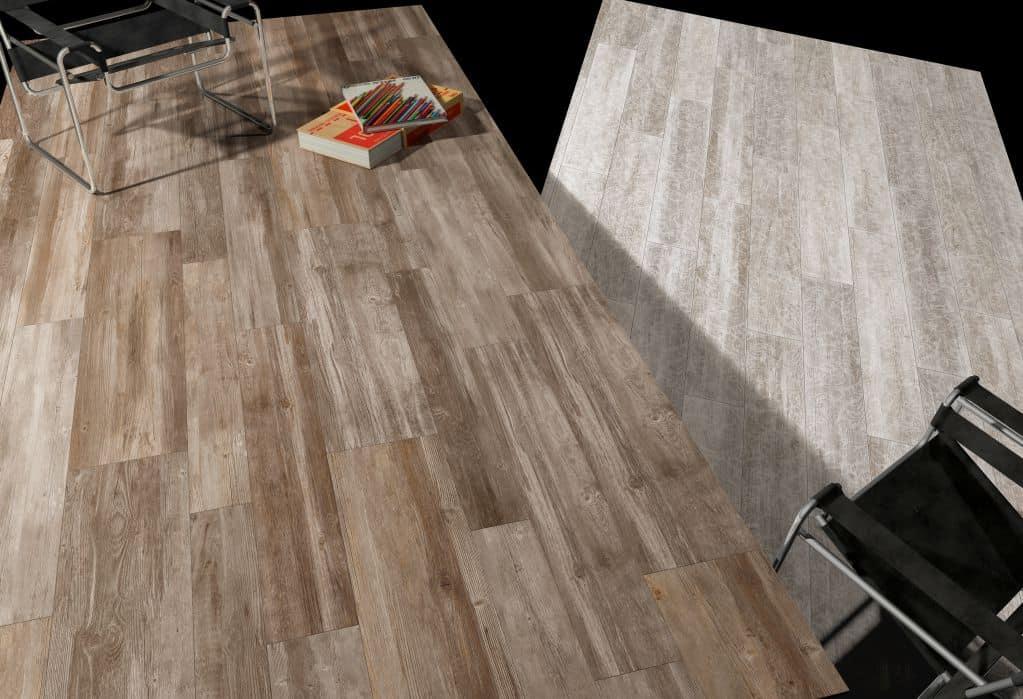 Gạch vân gỗ có thể sử dụng cho phòng bếp