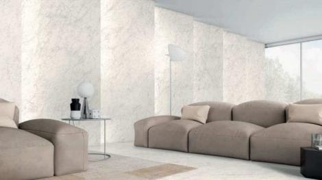 Gạch giả đá marble có độ bền và tính linh hoạt cao hơn đá tự nhiên