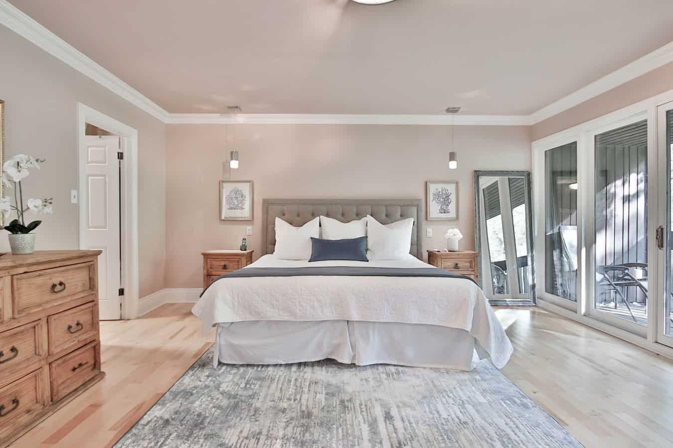 Chọn họa tiết phù hợp với không gian phòng ngủ