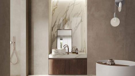 Lưu ý chọn gạch ốp tường phòng tắm vừa sang vừa bền