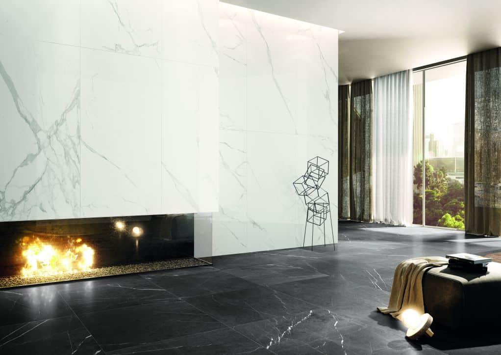 Thiết kế gạch ốp tường bếp cao cấp và tinh tế